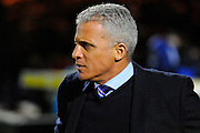 Carlisle Utd manager Keith Curle during the The FA Cup Third Round Replay match between Yeovil Town and Carlisle United at Huish Park, Yeovil, England on 19 January 2016. Photo by Graham Hunt.