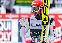 17.03.2019, Vikersundbakken, Vikersund, NOR, FIS Weltcup Skisprung, Raw Air, Vikersund, Einzelbewerb, Herren, im Bild Markus Eisenbichler (GER) // Markus Eisenbichler of Germany during the individual competition of the 4th Stage of the Raw Air Series of FIS Ski Jumping World Cup at the Vikersundbakken in Vikersund, Norway on 2019/03/17. EXPA Pictures © 2019, PhotoCredit: EXPA/ JFK