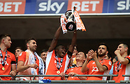 Sky Bet league 2: Exeter City v Blackpool 28 May 2017