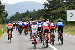 Peloton at Hrpelje - Kozina during Stage 1 of 24th Tour of Slovenia 2017 / Tour de Slovenie from Koper to Kocevje (159,4 km) cycling race on June 15, 2017 in Slovenia. Photo by Vid Ponikvar / Sportida