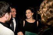 ANDRE BALAZ; GINA GERSHON, Rodarte Poolside party to show their latest collection. Hosted by Kate and Laura Muleavy, Alex de Betak and Katherine Ross.  Chateau Marmont. West  Sunset  Boulevard. Los Angeles. 21 February 2009
