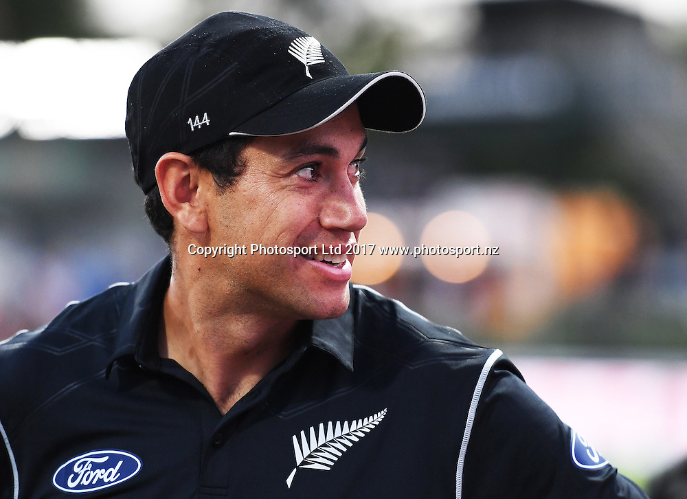 Ross Taylor. One Day International Cricket. New Zealand Black Caps v South Africa Proteas. Seddon Park, Hamilton, New Zealand. Sunday 19 February 2017 © Copyright photo: Andrew Cornaga / www.photosport.nz