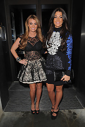 The Only Way Is Essex stars Billi Mucklow and Cara Kilbey at the STK restaurant in Covent Garden, London, UK. 22/12/2012<br />BYLINE MUST READ : GOTCHAIMAGES.COM<br /><br />Copyright by © Gotcha Images Ltd. All rights reserved.<br />Usage of this image is conditional upon the acceptance <br />of Gotcha Images Ltd, terms and conditions available at<br />www.gotchaimages.com