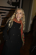 "Franca Sozzani. The private views for Anna Piaggi's exhibition ""Fashion-ology"" and also 'Popaganda: the life and style of JC de Castelbajacat' the Victoria & Albert Museum on January 31  2006. © Copyright Photograph by Dafydd Jones 66 Stockwell Park Rd. London SW9 0DA Tel 020 7733 0108 www.dafjones.com"