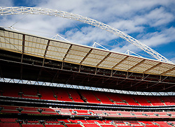 General View inside Wembley Stadium before the match - Photo mandatory by-line: Rogan Thomson/JMP - 07966 386802 - 01/03/2015 - SPORT - FOOTBALL - London, England - Wembley Stadium - Chelsea v Tottenham Hotspur - Capital One Cup Final.