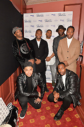 Street dance troupe DIVERSITY at an after show party following the opening of Peter Pan at the New Wimbledon Theatre, 93 The Broadway, London on 8th December 2015.