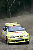 Mobil 1/RAC British Rally Championship 1997. RSAC Scottish Rally. Harri Rovanpera / Vitto Silander. SEAT CUPRA SPORT. SEAT Ibiza. World Copyright: Peter Taylor/PSP. Copy of publication required for printed pictures. Every used picture is fee-liable.