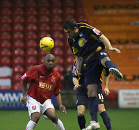 Photo: Mark Stephenson.<br /> <br /> Walsall v Bristol Rovers. Coca Cola League 2. 30/12/2006.<br /> <br /> Rover's Andy Sadwell on the ball.