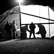 Italy, Basilicata- By night at the camp on the Pollino National Park © 2012 Mama2
