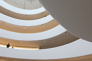 the architecture of Frank Lloyd Wright, Guggenheim Museum