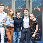 NLD/Amsterdam/20150620- Filmpremiere Code M, Luca, Leontine, Senna, Marco en Jada Borsato