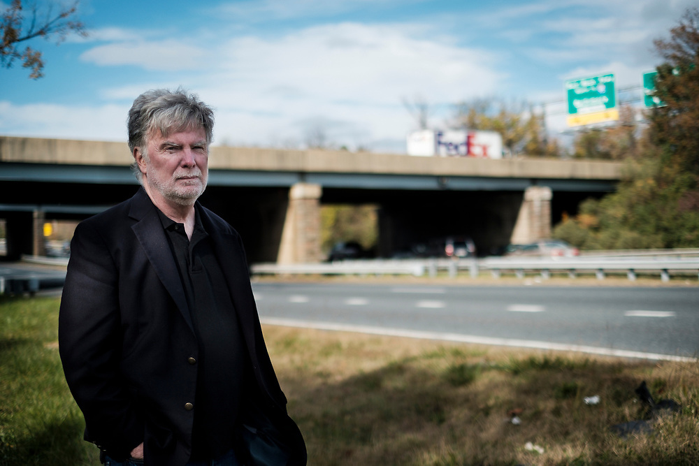 WASHINGTON, D.C. - NOVEMBER 10: James L. Trainum retired Washington, D.C., homicide detective on Friday, November 10, 2017 in Washington, D.C., at one of the areas where the Freeway Phantom dumped the bodies his victims. Trainum has been on the case of the elusive D.C.-area serial killer for over 14 years. Beginning in 1971, over 16 months, the killer managed to abduct six young black females and keep some captive for days, without being seen. (Photo by Pete Marovich For The Washington Post)