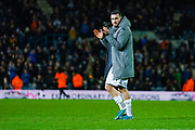 Leeds United midfielder Jack Harrison (22) reacts during the EFL Sky Bet Championship match between Leeds United and Hull City at Elland Road, Leeds, England on 10 December 2019.