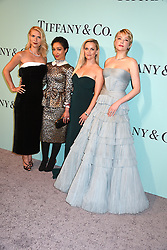 Claire Danes, Ruth Negga, Reese Witherspoon & Haley Bennett attend the Tiffany & Co 2017 Blue Book Collection on April 21, 2017 at St Ann's Warehouse in Brooklyn, New York, USA. *** Please Use Credit from Credit Field ***