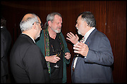 ALAN YENTOB; TERRY GILLIAM; FRANCIS FORD COPPOLA, Liberatum Cultural Honour for Francis Ford Coppola<br /> with Bulgari Hotel & Residences, London. 17 November 2014