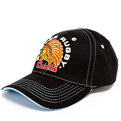Black Basic Baseball Cap - Ryan Hiscott/JMP - 30/07/2019 - SPORT - Sandy Park - Exeter, England - Exeter Chiefs Club Shop Merchandise