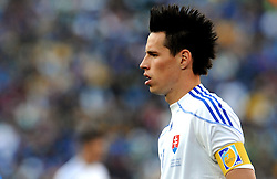 24.06.2010, Ellis Park Stadium, Johannesburg, RSA, FIFA WM 2010, Slovakia (SVK) and Italy (ITA), im Bild Marek Hamsik (Slovacchia).. EXPA Pictures © 2010, PhotoCredit: EXPA/ InsideFoto/ Giorgio Perottino +++ for AUT and SLO only +++ / SPORTIDA PHOTO AGENCY