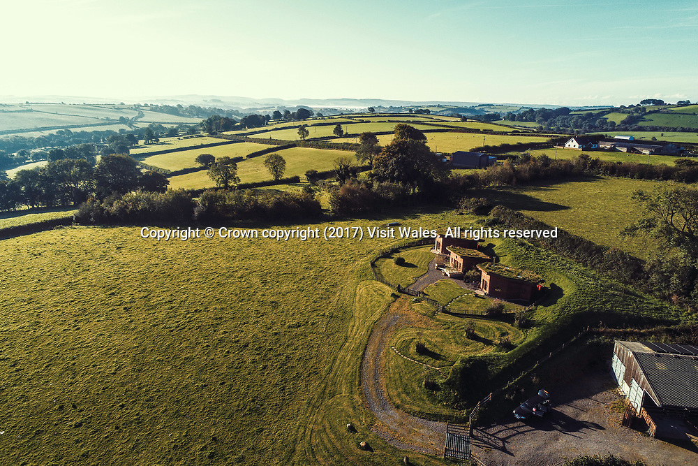 Treberfedd Farm<br /> Lampeter<br /> Mid Wales<br /> <br /> Photographer: Keith Morris