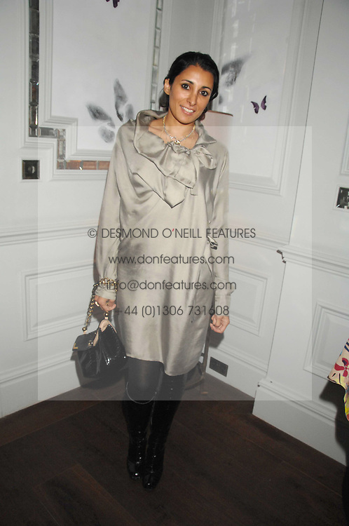 SERENA REES at a party to launch the Dom Perignon OEotheque 1995 held at The Landau, Portland Place, London W1 on 26th February 2008.<br />