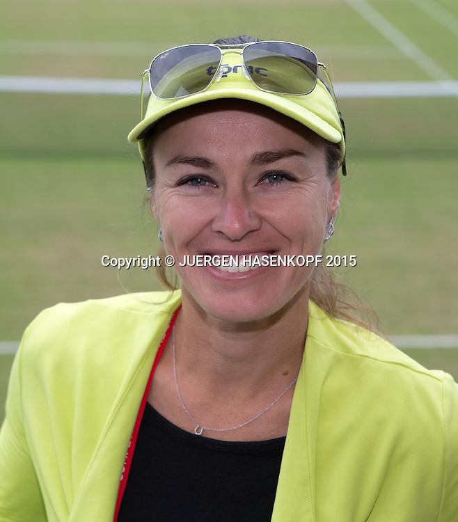 Martina Hingis (SUI) , Portrait <br /> <br /> Tennis - Wimbledon 2015 - Grand Slam ITF / ATP / WTA -  AELTC - London -  - Great Britain  - 5 July 2015.