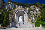 First world War Memorial in Nice, France