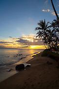 Sunset, Kaanapali, Maui, Hawaii