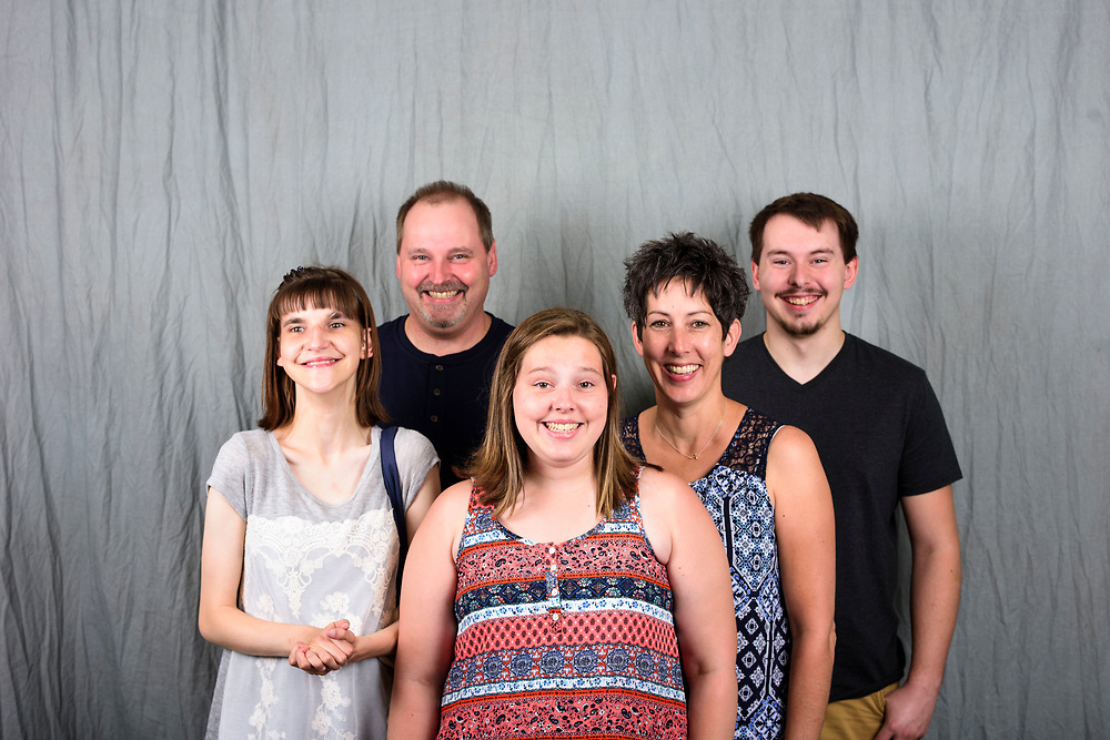 Pentagon City, Virginia - June 30, 2017: The Zahrt Family during the Mowat Wilson International Family Conference at the Marriott Crystal Gateway in Pentagon City, Virginia, Friday, June 30, 2017.<br /> <br /> <br /> CREDIT: Matt Roth