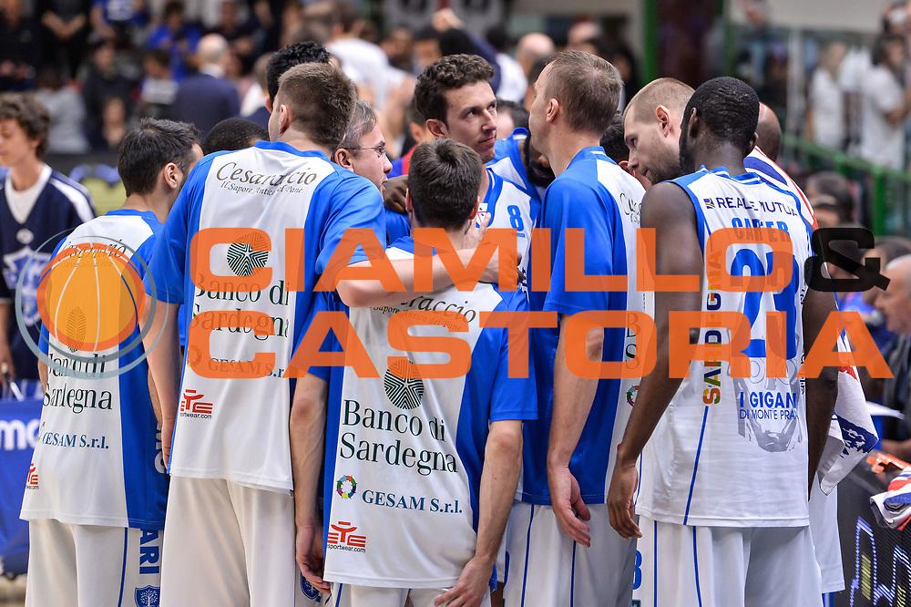 Team Banco di Sardegna Dinamo Sassari<br /> Banco di Sardegna Dinamo Sassari - Dolomiti Energia Aquila Basket Trento<br /> Legabasket Serie A LBA Poste Mobile 2016/2017<br /> Playoff Quarti Gara3<br /> Sassari 16/05/2017<br /> Foto Ciamillo-Castoria