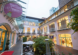 Rosenhofe courtyard at Hackescher Hof historic retail and residential area in Hackescher Mart in  Mitte Berlin Germany
