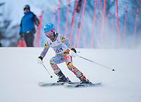 Gus Pitou U14 girls 2107 Gunstock Ski Club.  ©2017 Karen Bobotas Photographer