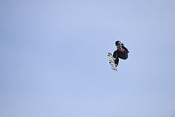 February 19, 2018 - Pyeongchang, South Korea - Women's Snowboard Big Air  qualifications Monday, February 19, 2018 at the Alpensia Ski Jumping Centre at the Pyeongchang Winter Olympic Games. The sport is making it's first appearance as an Olympic sport. Photo by Mark Reis, ZUMA Press/The Gazette (Credit Image: © Mark Reis via ZUMA Wire)
