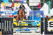 Uno Berritella - Sandero<br /> FEI World Breeding Jumping Championships for Young Horses 2016<br /> © DigiShots