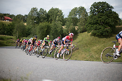 Rossella Ratto (ITA) of Cylance Pro Cycling rides mid-pack during the 97,1 km second stage of the 2016 Ladies' Tour of Norway women's road cycling race on August 13, 2016 between Mysen and Sarpsborg, Norway. (Photo by Balint Hamvas/Velofocus)