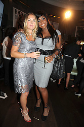 Left to right, photographer CANDICE and MICA PARIS at the Harper's Bazaar Women of the Year Awards 2008 at The Landau, The Langham Hotel, Portland Place, London on 1st September 2008.<br /> <br /> NON EXCLUSIVE - WORLD RIGHTS