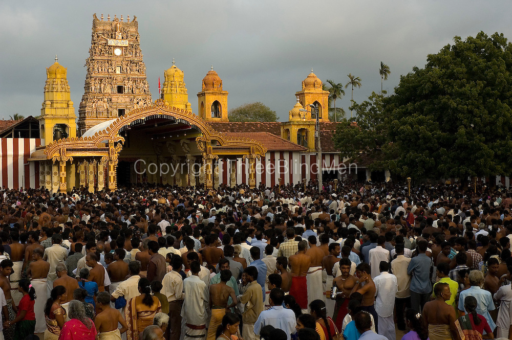 With a ceasefire in place between the LTTE and the Sri Lankan government, the annual chariot festival at Nallur Temple was attended by many thousands this year...2004