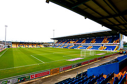 A general view inside the One Call Stadium, home to Mansfield Town - Mandatory by-line: Ryan Crockett/JMP - 25/01/2020 - FOOTBALL - One Call Stadium - Mansfield, England - Mansfield Town v Bradford City - Sky Bet League Two