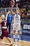 DESCRIZIONE : Ragusa Qualificazione Europei Donne 2015 Italia Lettonia Italy Latvia<br /> GIOCATORE : Chiara Pastore<br /> CATEGORIA : Tiro Three Points<br /> EVENTO : Qualificazioni Europei Donne 2015<br /> GARA : Italia Lettonia Italy Latvia<br /> DATA : 25/06/2014 <br /> SPORT : Pallacanestro<br /> AUTORE : Agenzia Ciamillo-Castoria/GiulioCiamillo<br /> Galleria : FIP Nazionali 2014<br /> Fotonotizia : Ragusa Qualificazioni Europei Donne 2015 Italia Lettonia Italy Latvia<br /> Predefinita: