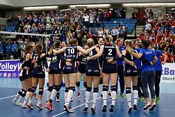 20171021 BEL: Champions League, Asterix Avo Beveren - Sliedrecht Sport: Oostakker<br />Sliedrecht Sport wint met 1-3 en plaats zich voor de volgende ronde. <br />&copy;2017-FotoHoogendoorn.nl / Pim Waslander