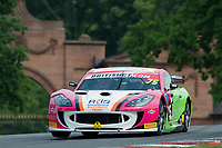 Robert Barrable (IRL) / Aaron Mason  #75 Insurance Racing  Ginetta G55 GT4  Ford Cyclone 3.7L V6 British GT Championship at Oulton Park, Little Budworth, Cheshire, United Kingdom. May 28 2016. World Copyright Peter Taylor/PSP.