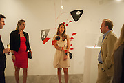 RODRIGO CORTES; CATALINA MARCH; BEATRIZ ORDOVAS; TOMASO CREMONESI, Pilar Ordovas hosts a Summer Party in celebration of Calder in India, Ordovas, 25 Savile Row, London 20 June 2012