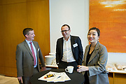"""BNP Paribas Roundtable """"Be prepared: Anticipating the Fallout from MIFID II in Asia"""" in IFC Tower II, Hong Kong, China, on 1 December 2017. Photo by Lucas Schifres"""