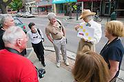 History tour, Flagstaff, Arizona, USA
