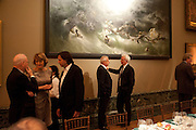 LORD MYNERS, Chris Ofili dinner to celebrate the opening of his exhibition. Tate. London. 25 January 2010