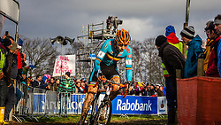 Rob PEETERS (6,BEL) 2nd lap at Men UCI CX World Championships - Hoogerheide, The Netherlands - 2nd February 2014 - Photo by Pim Nijland / Peloton Photos