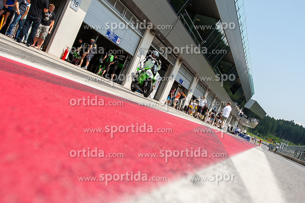 01.07.2012, Red Bull Ring, Spielberg, AUT, IDM Red Bull Ring, Renntag, im Bild Feature Boxenstrasse // during the IDM race day on the Red Bull Circuit in Spielberg, 2012/07/01, EXPA Pictures © 2012, PhotoCredit: EXPA/ M. Kuhnke