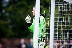 Annan Athletic's Craig Summersgill..Annan Athletic 0 v 3 Falkirk. Semi Final of the Ramsdens Cup, 9/10/2011..Pic © Michael Schofield.