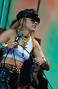 Miley Cyrus live at Glastonbury 2019 on the Pyramid Stage
