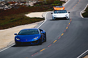 August 22-26, 2018. Monterey Car week. Lamborghini Huracan.