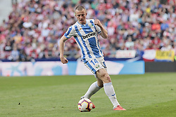 March 9, 2019 - Madrid, Madrid, Spain - CD Leganes's Vasyl Kravets during La Liga match between Atletico de Madrid and CD Leganes at Wanda Metropolitano stadium in Madrid. (Credit Image: © Legan P. Mace/SOPA Images via ZUMA Wire)