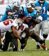 TAMPA, FL - SEPTEMBER 9: <br /> <br /> of the Tampa Bay Buccaneers during the game against the Carolina Panthers at Raymond James Stadium on September 9, 2012, in Tampa, Florida. The Buccaneers won 16-10. (photo by Mike Carlson/Tampa Bay Buccaneers)